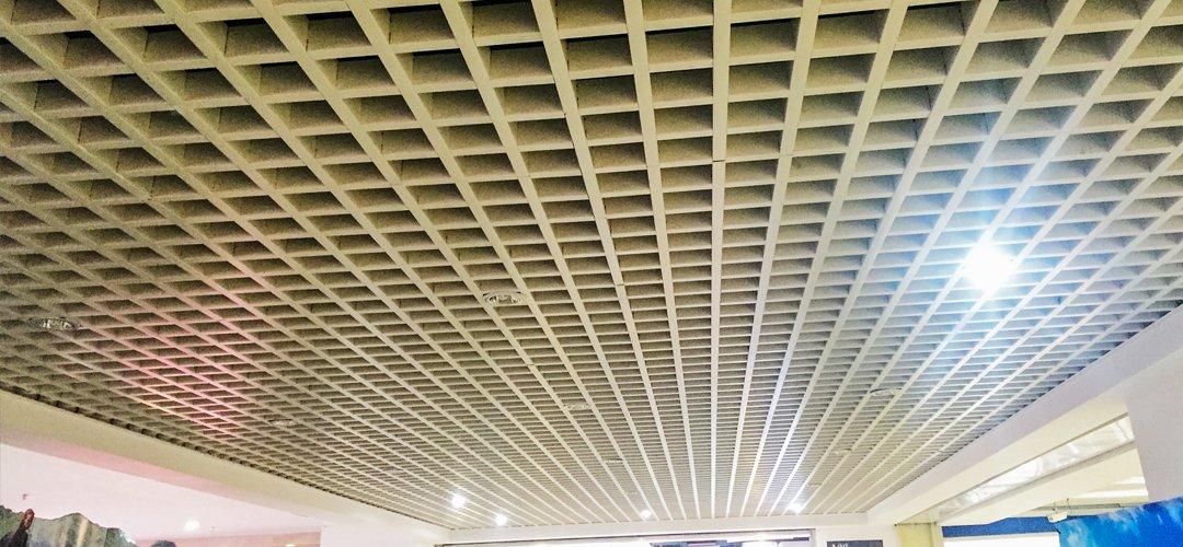 grid ceiling