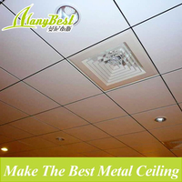 595*595 Modern Acoustic Aluminum Suspended Roof Ceiling