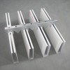 0.4-2.0mm Metal Aluminum Baffle Ceiling Tiles Decorative Insulation