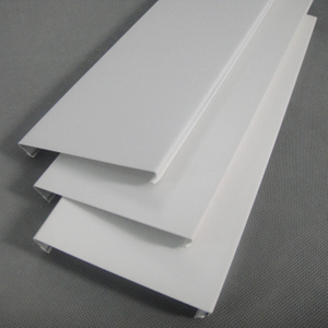 0.5-1.2mm Aluminium Strip Ceiling Tiles corridor,Gas station
