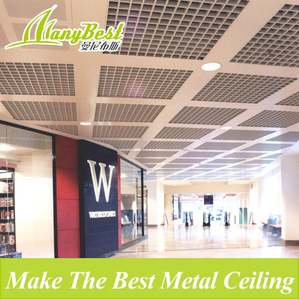 2019 Fashionable Aluminum Decorative Open Cell/grid Ceiling for Shopping Malls