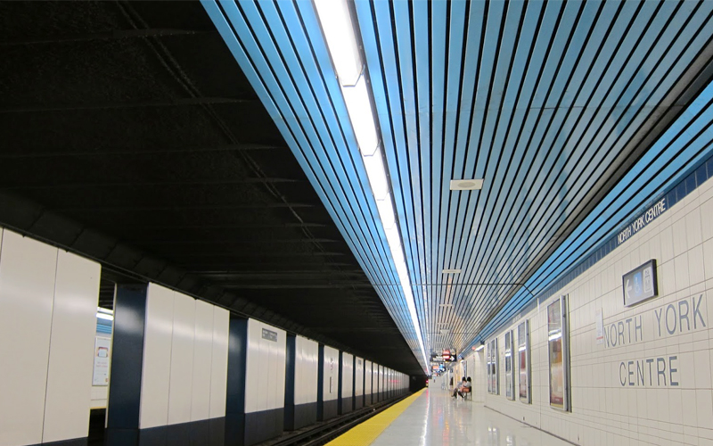 Advantages of using Aluminum panels in subway stations