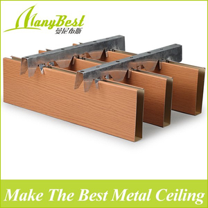 2019 Hot Sales False Aluminum Baffle Ceiling Designs