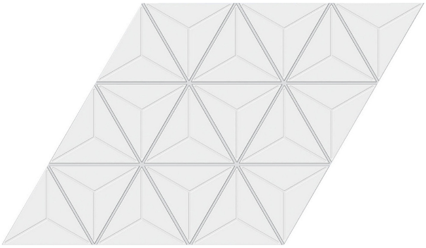 Aluminum lay in ceiling
