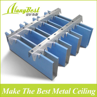 2018 new Manybset Fashion Aluminum Restaurant False Baffle Ceiling design