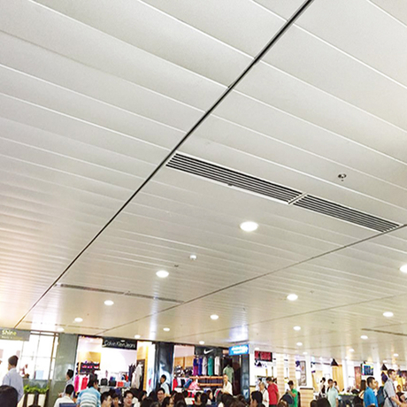 C Linear Metal Ceiling System with A Maximum of 6000mm