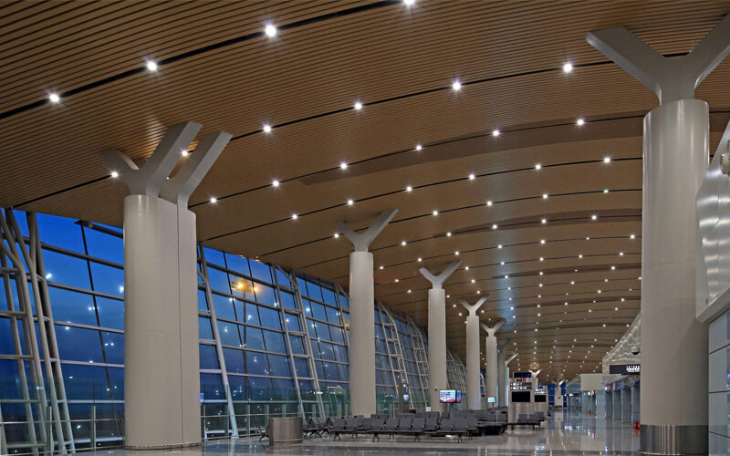 aluminum baffle ceiling