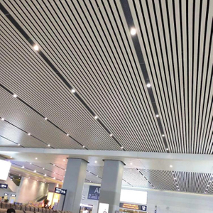 C-Shaped Aluminum Decorative Metal Linear Ceiling/strip ceiling