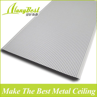 2018 China Hotsale Fantastic Design Fireproof Decorative suspended ceiling Aluminum Strip Ceiling Panels