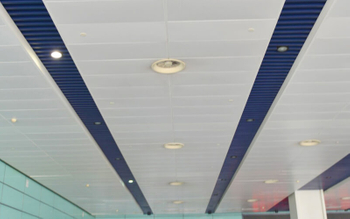 Installation of Aluminum Strip Ceiling