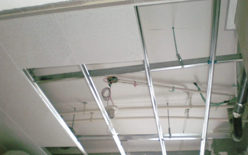 aluminum ceiling installation