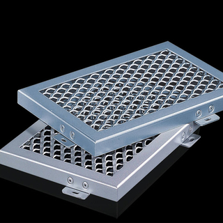 Decorative Aluminum Panels Expanded Wire Mesh