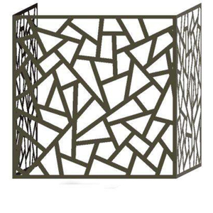 Laser Cut Decorative Metal Fencing for Air Conditioner Cover