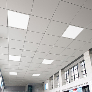 Aluminum False Plain Perforated Metal Ceiling panel 60*60 Clip in